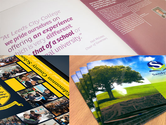 Example of our prospectus printing